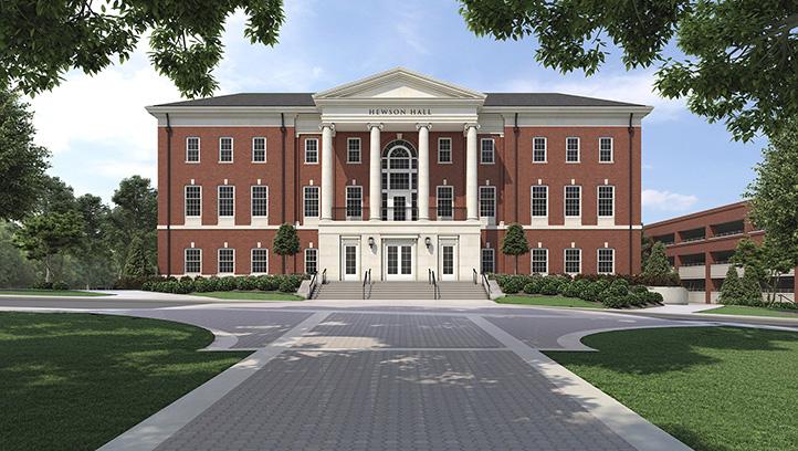 Computer rendering of Hewson Hall